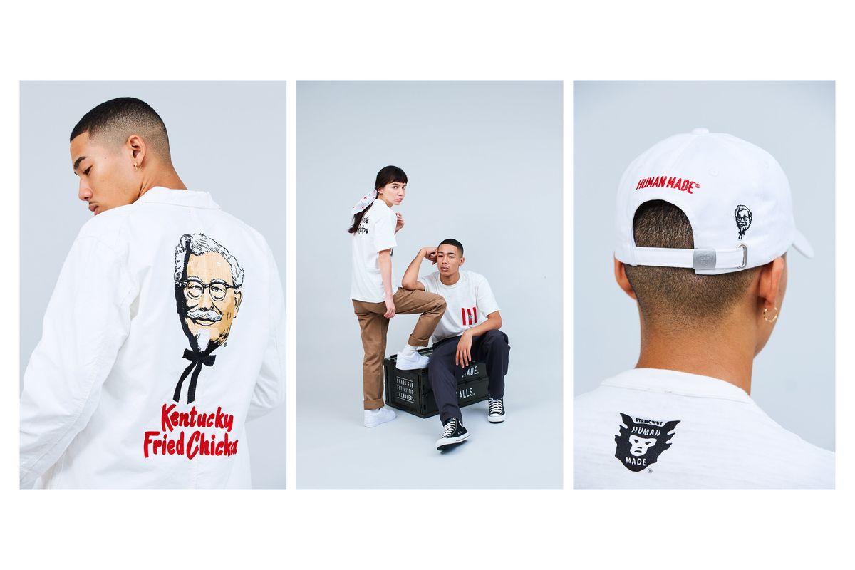 Human Made Shares Deep Fried Collab With KFC