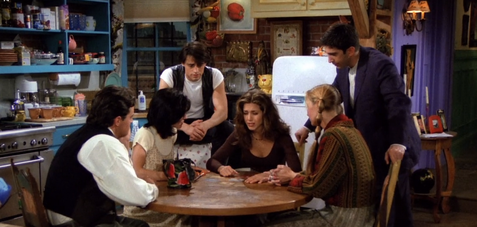 10 Epiphanies You Experience While Watching 'Friends'