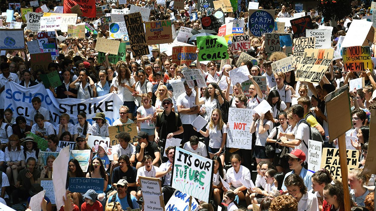 Thousands of Australian Students Strike Over Climate Change Inaction