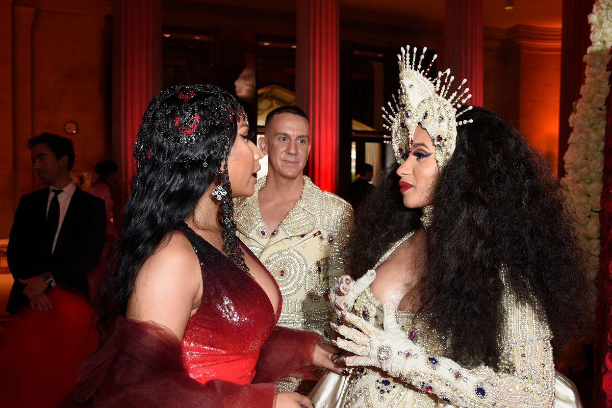 Nicki Minaj Hired the Bartenders From Her Cardi B Brawl