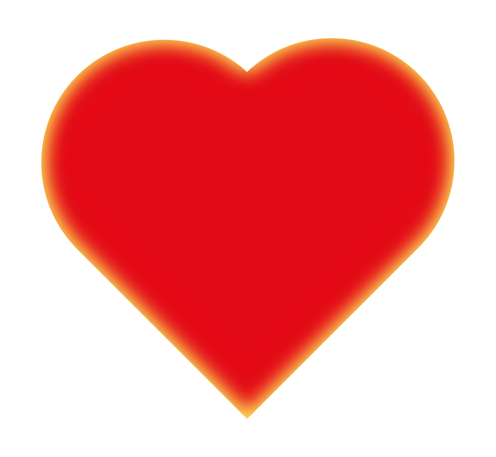 a red heart