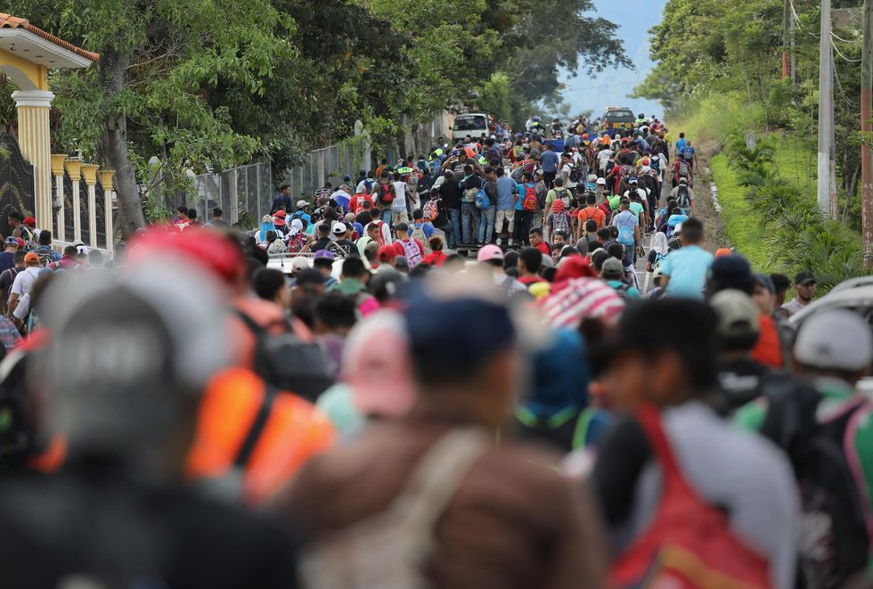 Spanish-language network reporter reveals who is 'infiltrating' migrant caravan heading to US