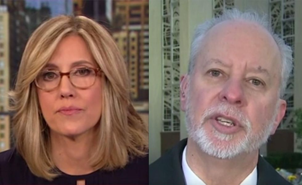 CNN anchor seems to try to get rabbi of synagogue where mass murder occurred to blame Trump. Oops.