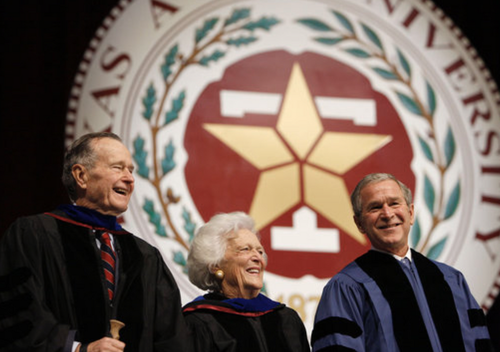 """Texas A&M Calls """"Here"""" For Late President George H.W. Bush"""