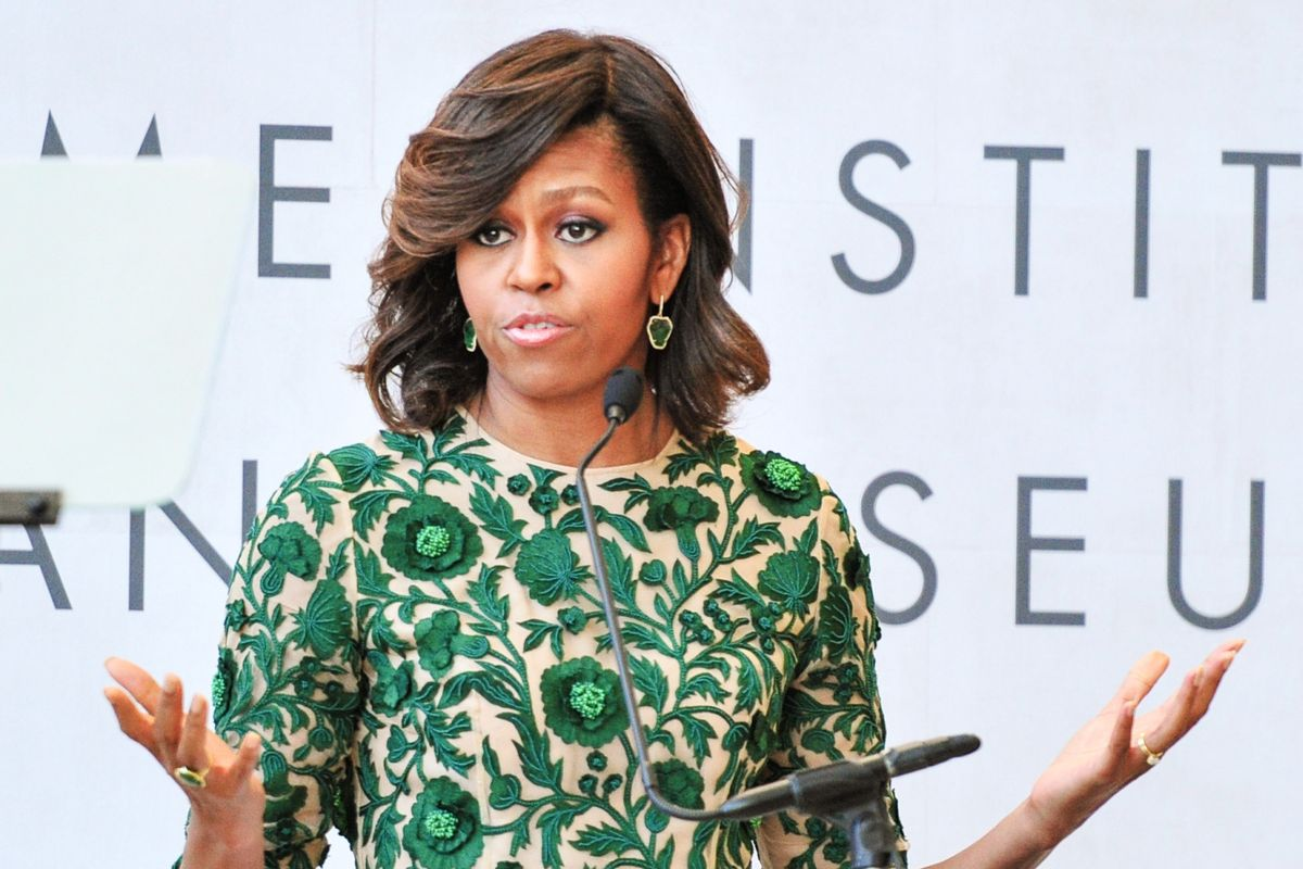 Michelle Obama Disavows 'Lean In' Feminism