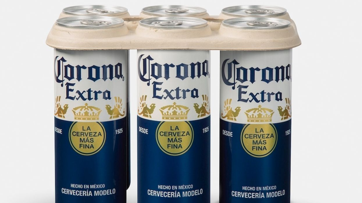 Corona Becomes First Big Beer Brand to Trial Plastic-Free Rings
