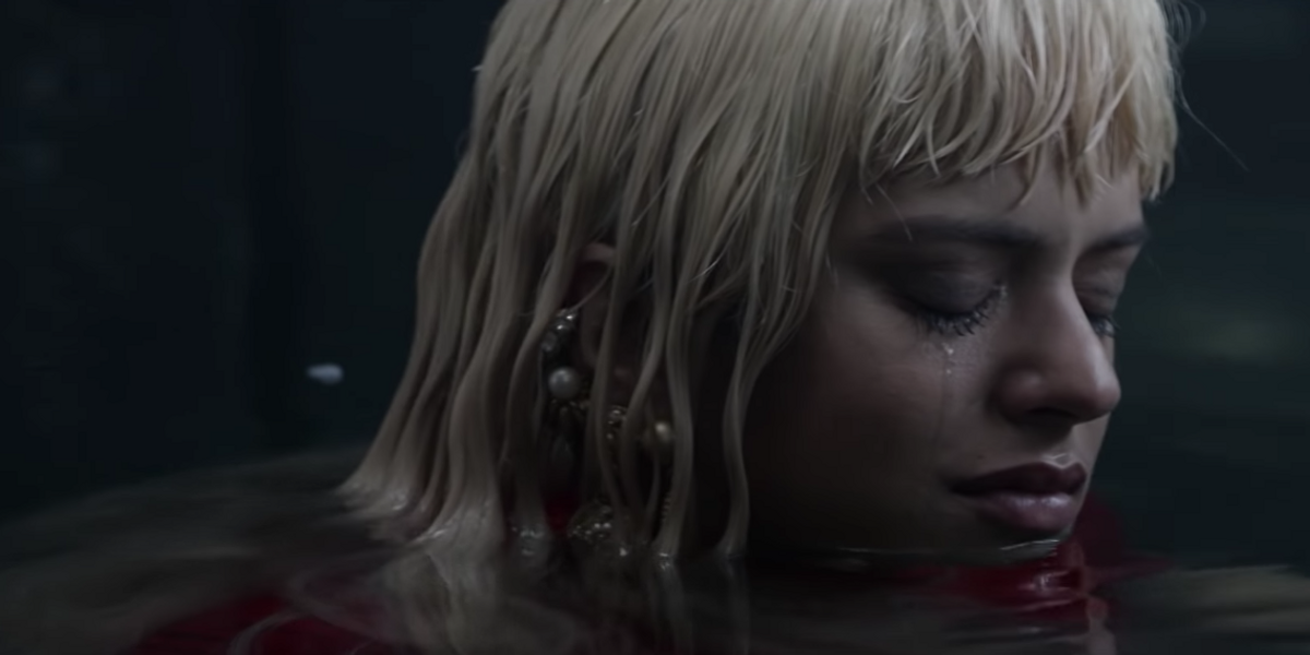 Watch Rosalía Cry a Literal River of Tears