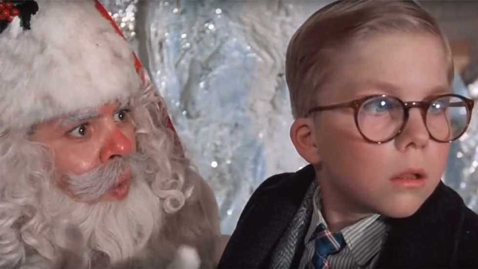Shopping For Your Boyfriend's Christmas Present As Told By 'A Christmas Story'