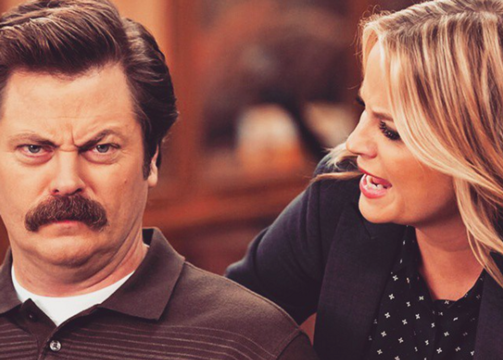 Finals Week For A Senior, As Told By 'Parks And Rec'