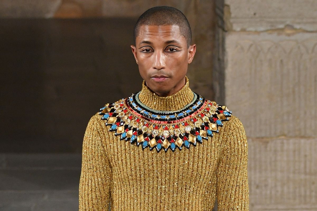 Pharrell Walked Chanel As a Pharaoh