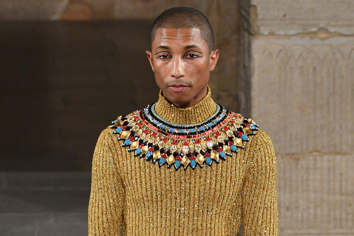 Pharrell Walked Chanel As a Pharaoh