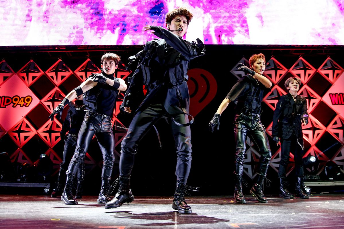 Sitting Down With Monsta X at Their Historic Jingle Ball Debut