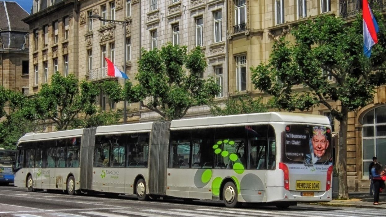 In World First, Luxembourg to Make All Public Transportation Free