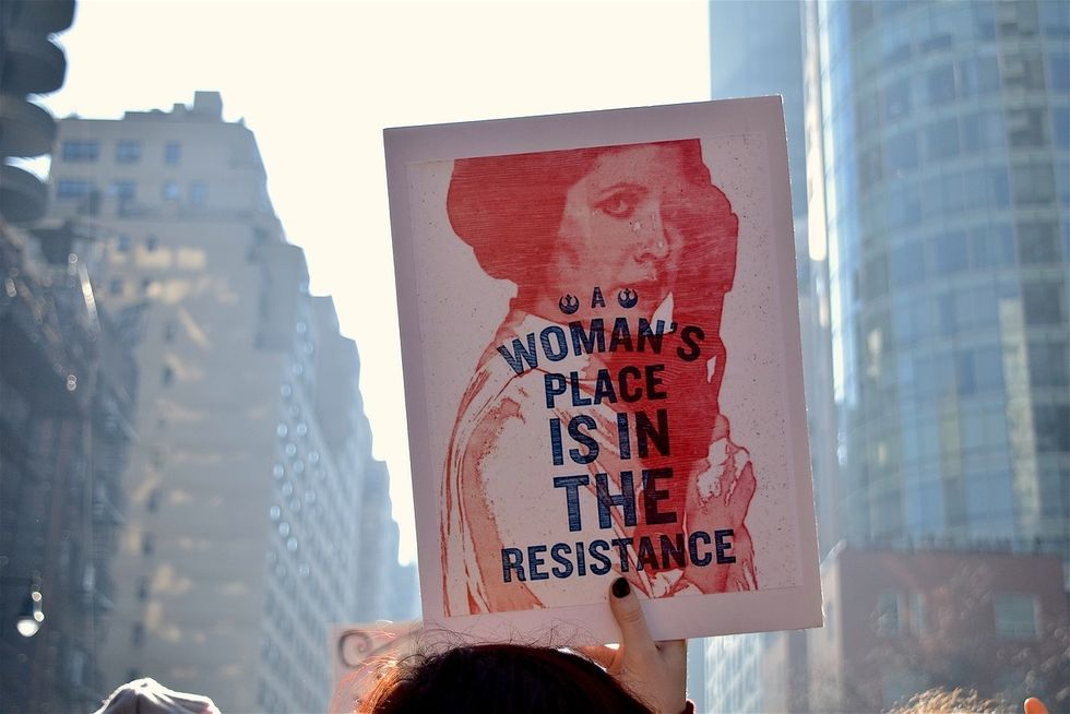 Troubled Leadership Is NOT Helping The Women's March Make Any Political Impact