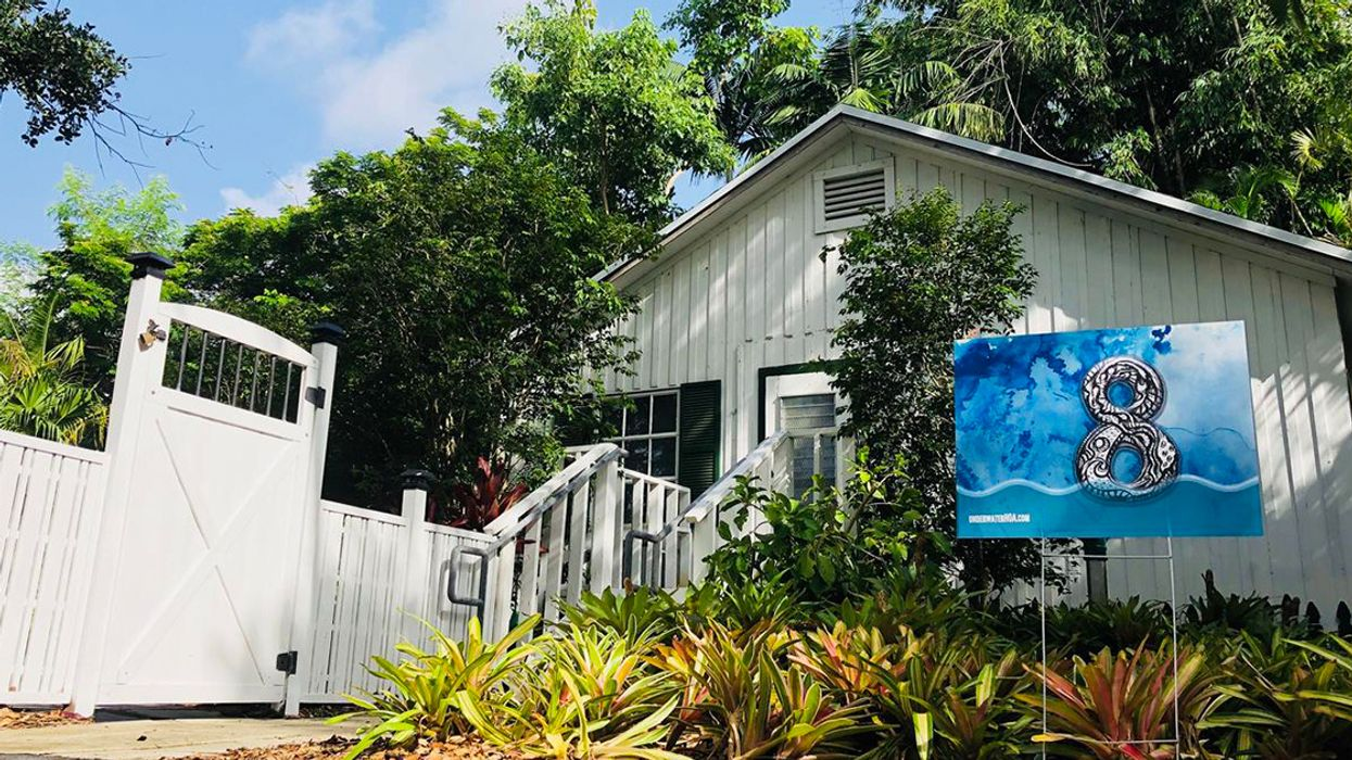 As Miami Battles Sea-Level Rise, This Artist Makes Waves With His 'Underwater Homeowners Association'