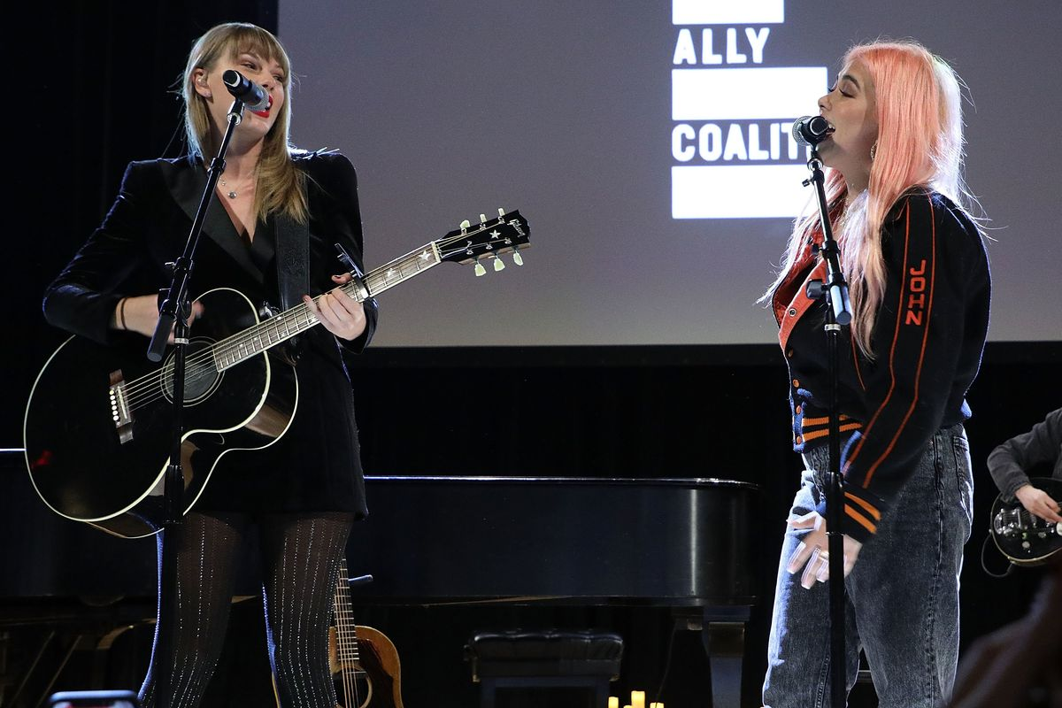 Hayley Kiyoko Brings Taylor Swift On Stage For a Surprise Duet