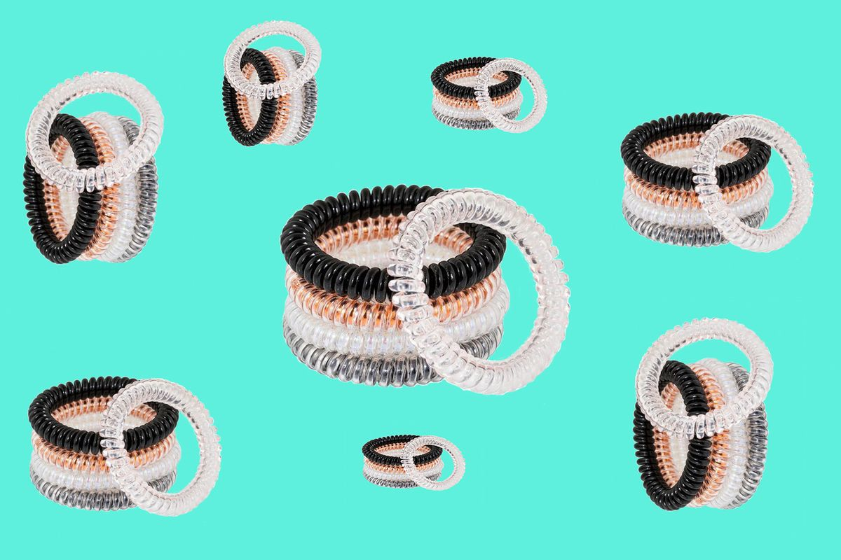 A Deep Dive Into the Spiral Hair Tie Trend