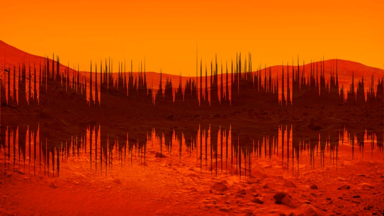 NASA releases first sounds ever captured on Mars