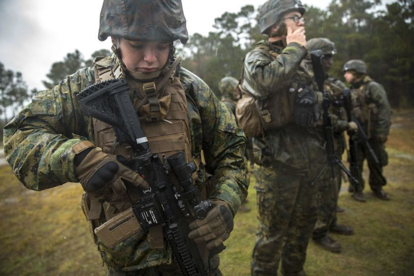 Here S All The Sweet Gear Marines Will Rock Downrange In