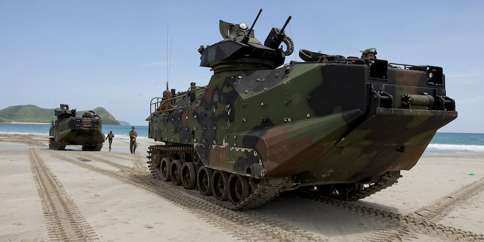 How Marines Are Rethinking The Art Of The Amphibious Assault For The