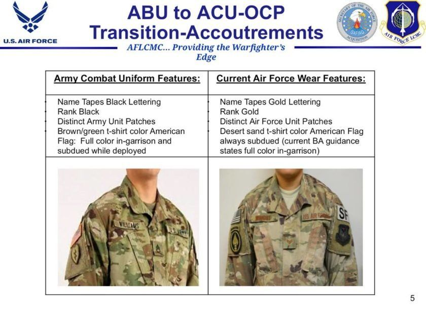 The Air Force May Switch To Army Camo Sooner Than Expected