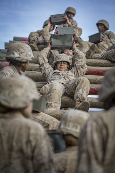 I Tried To Make Women Marines Tougher It Was The Hardest