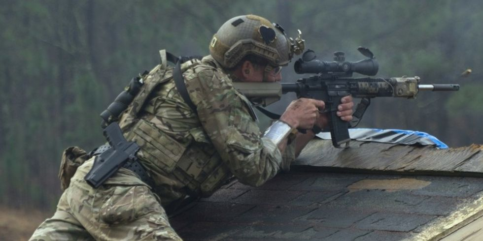 This Green Beret Sharpshooter Team Beats The Hell Out Of Any