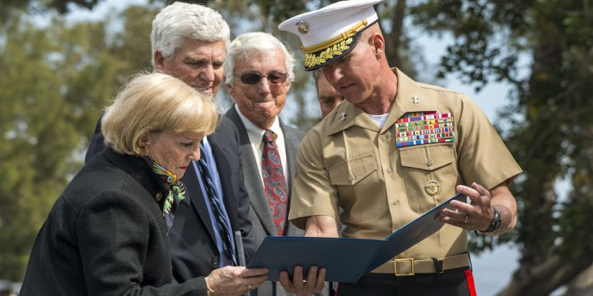 Marine Hero Receives Silver Star 51 Years To The Day After