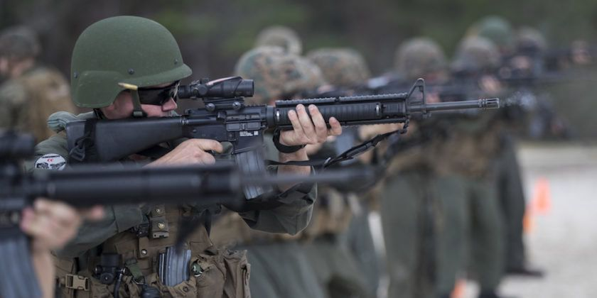 The Marine Corps' Rifles Are Officially Glitch-Free  The