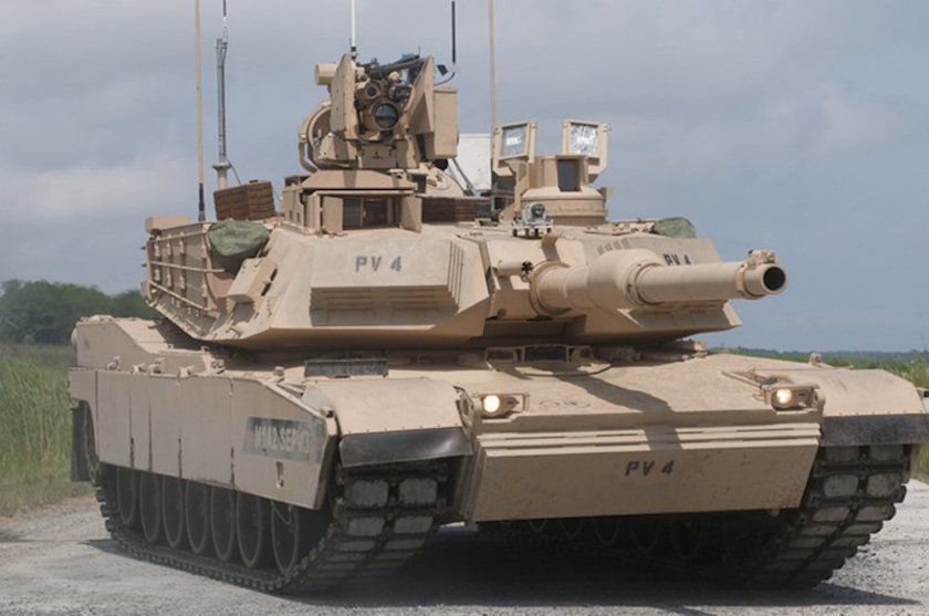 The Army's M1 Abrams Tanks Are Officially Getting A Major
