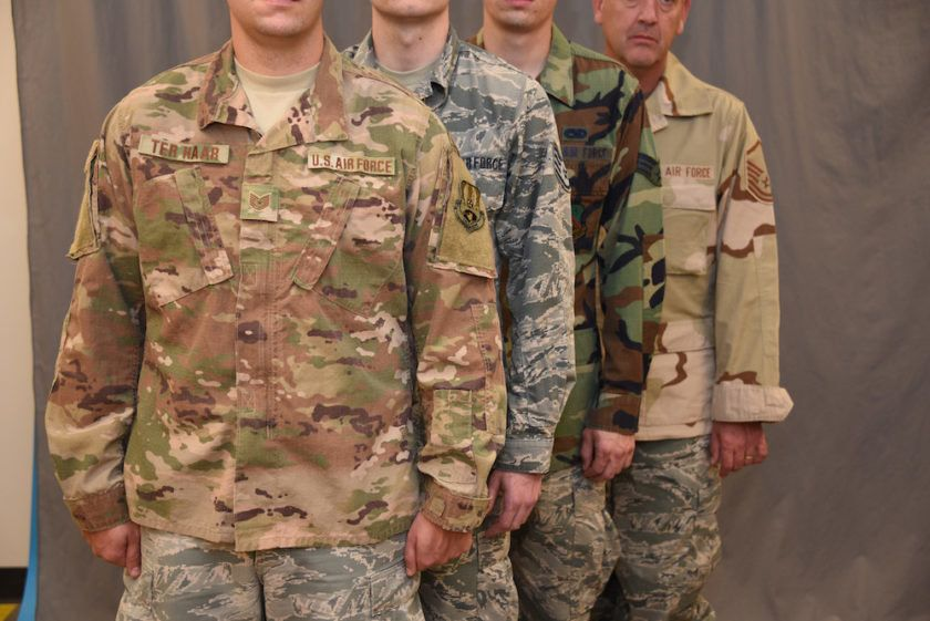 9509231ab5137 What The Fresh Hell Is Going On With This Air Force Uniform Photo ...