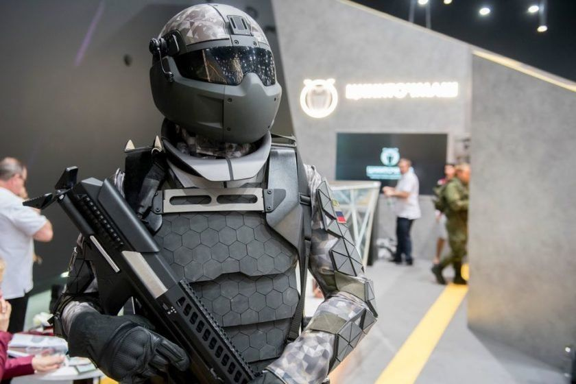 Russia Just Showed Off A Futuristic New Stealth Camouflage System