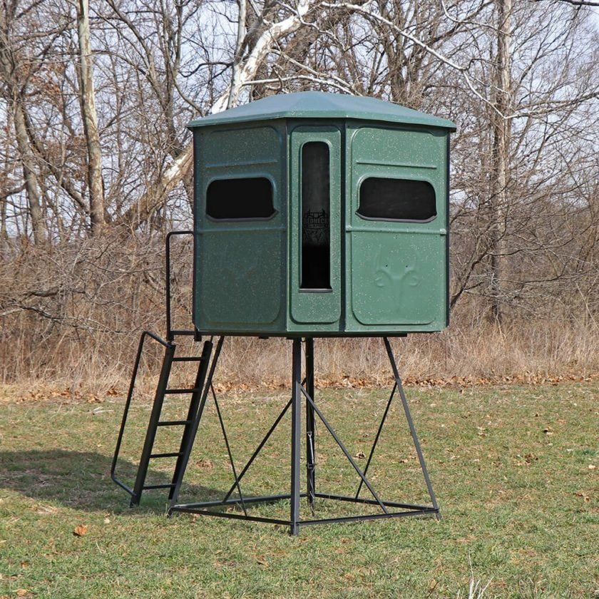 Hunting Blinds For The Rich And Famous — Or A Redneck Like Me - Task