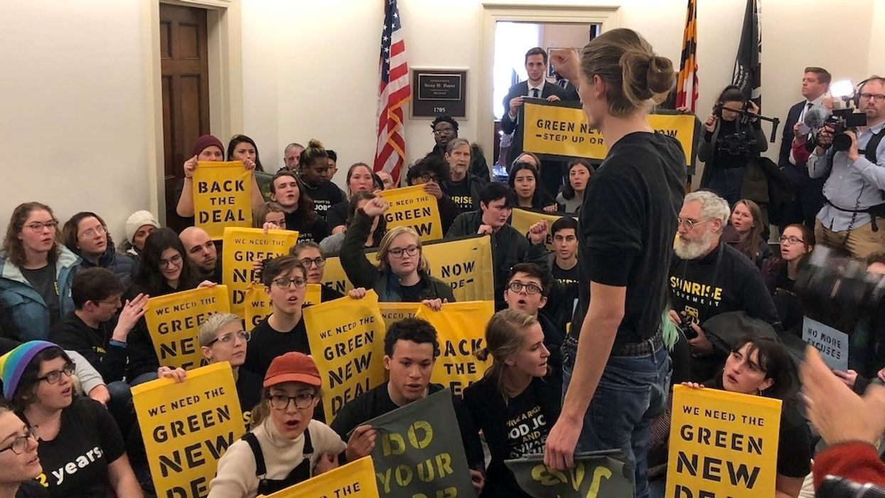 1,000+ Youth Activists Storm Capitol to Demand Green New Deal