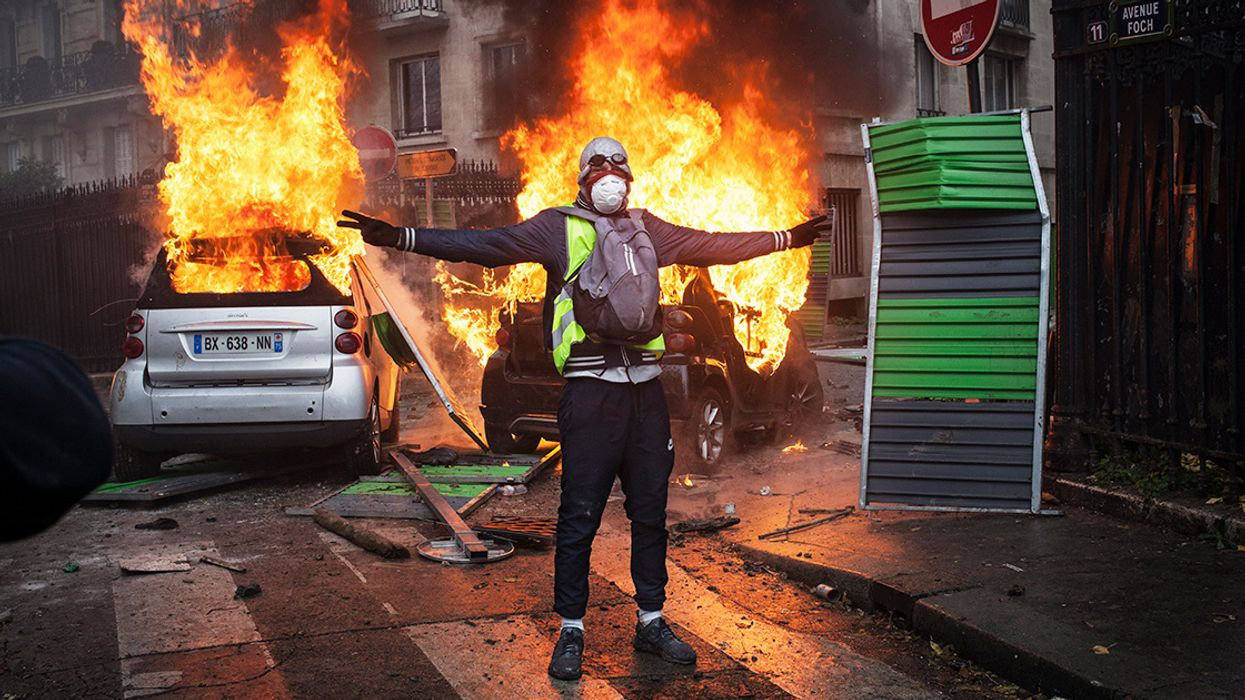 The Lesson From a Burning Paris: We Can't Tax Our Way Out of the Climate Crisis