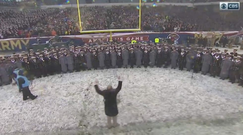 Watch: This rendition of the national anthem at the Army-Navy game will give you goosebumps