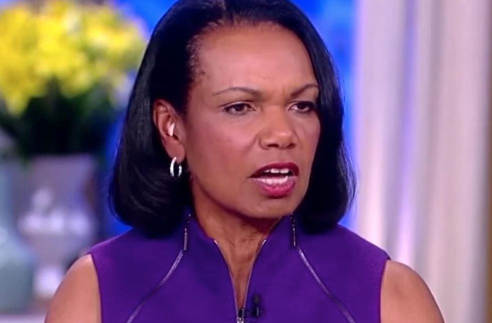Condoleezza Rice to 'The View' audience: 'Let me tell you why I'm a defender of the Second Amendment'