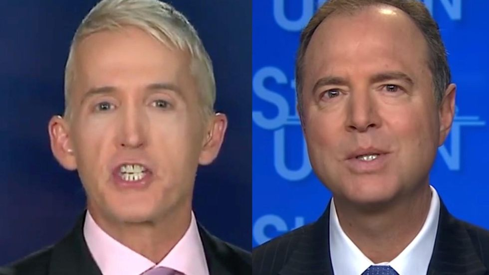Trey Gowdy absolutely torches Adam Schiff in a scathing rant on Fox News