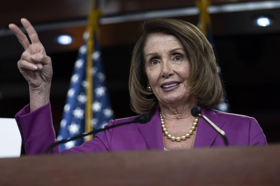 Pelosi forgets McConnell's name, says challenging her as speaker 'a little bit on the sexist side