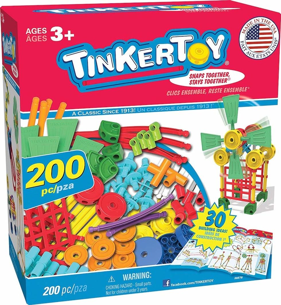 tinkertoy building set