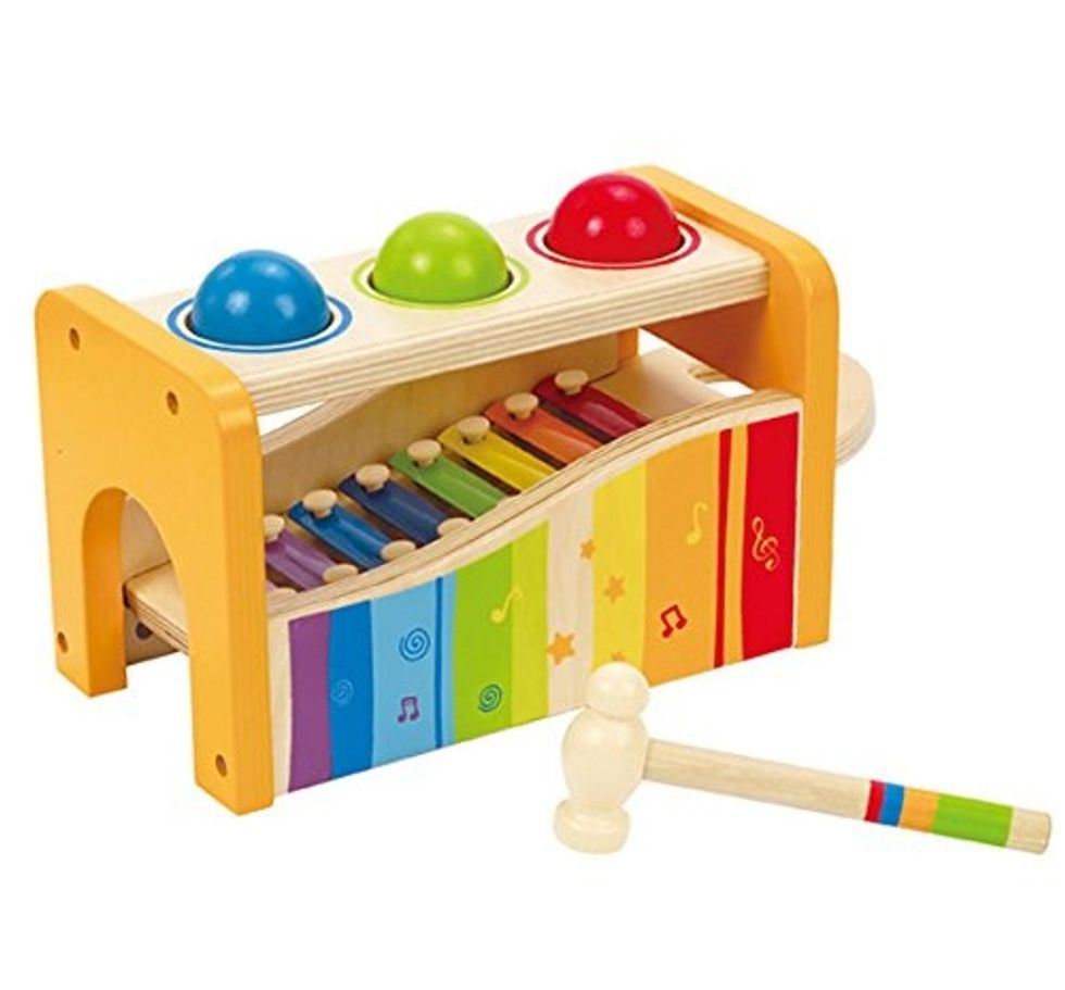 musical bench for kids