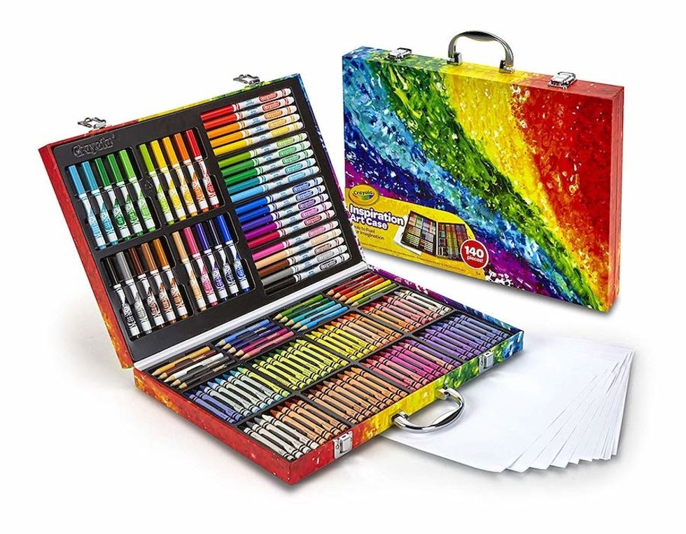 crayola art case set