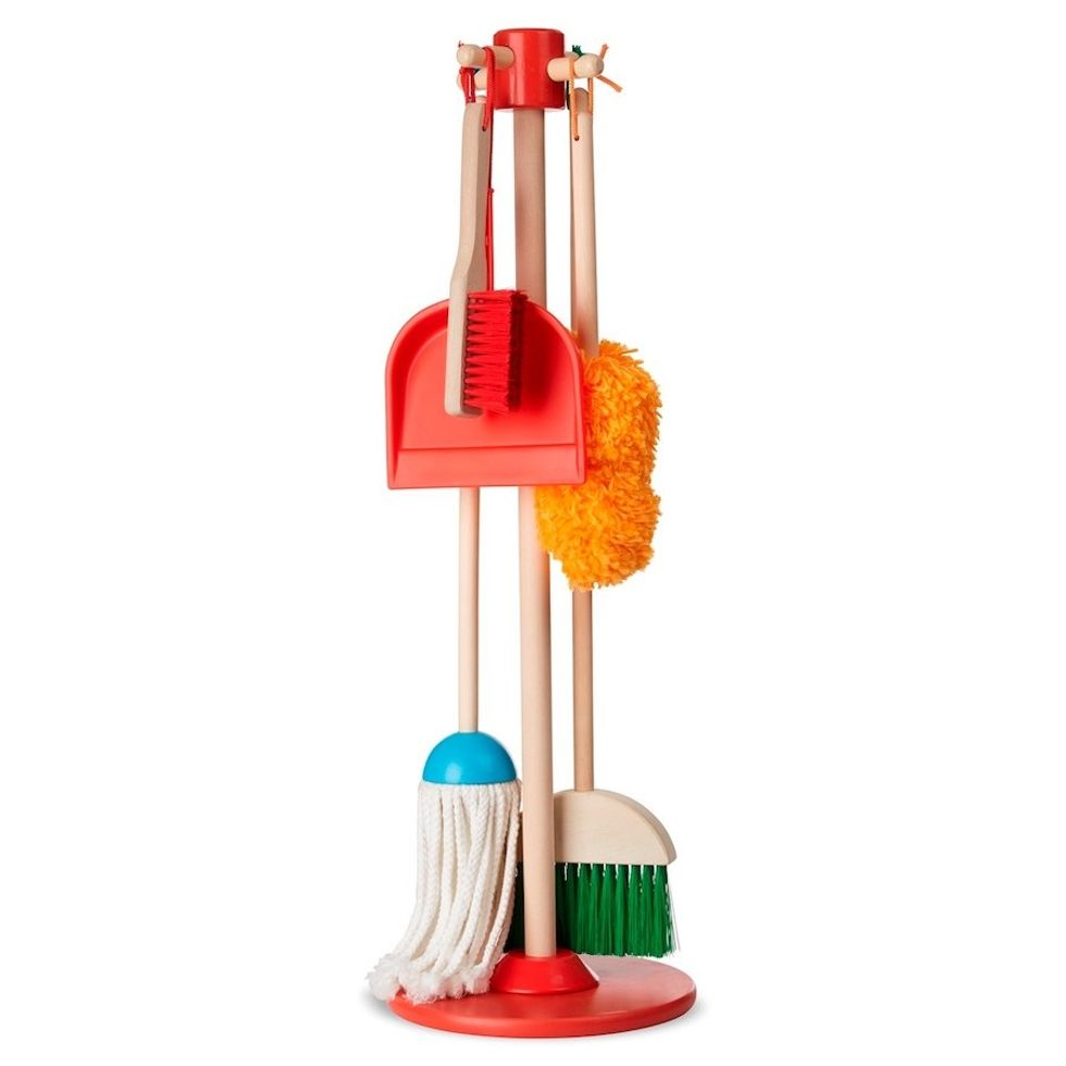 Melissa & Doug Let's Play House! Dust, Sweep and Mop Set