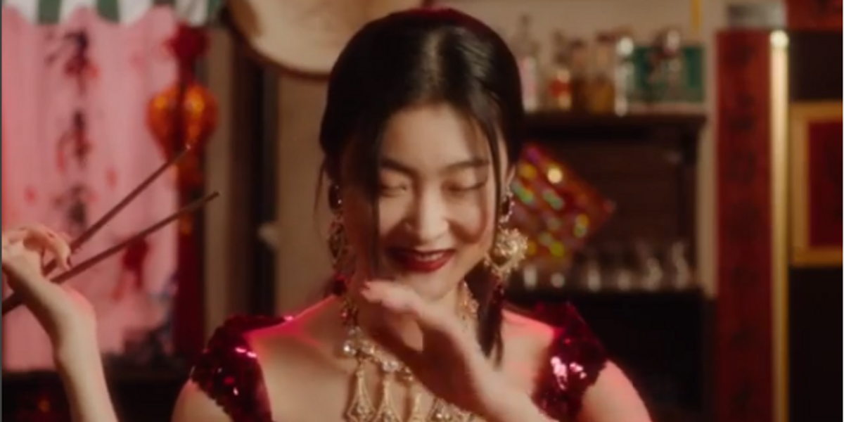 Dolce & Gabbana's New Ad Shows A Chinese Woman Struggling To Use Chopsticks