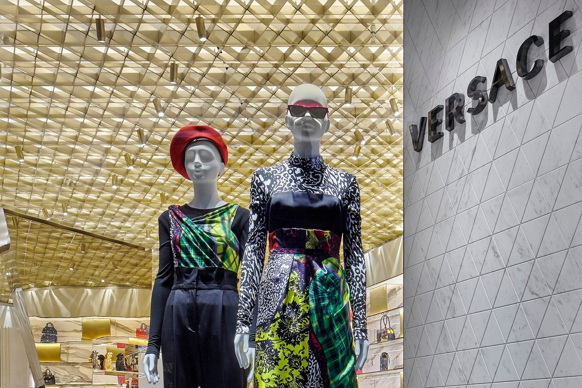 Versace's New Boutique Is Sexy and Sustainable