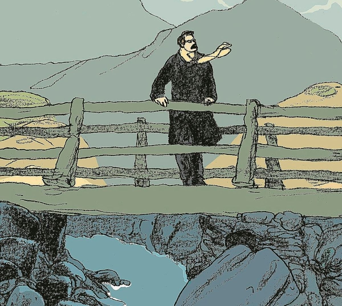 La stella danzante di Nietzsche brilla nel fumetto scritto dal ribelle Onfray