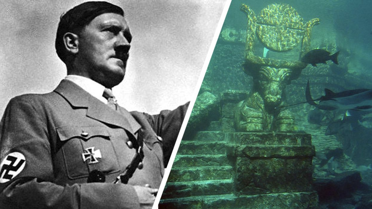 Why the Nazis were obsessed with finding the lost city of Atlantis