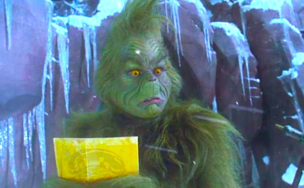 College Life As Told By The Grinch