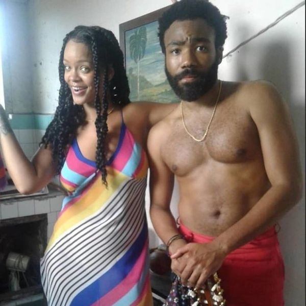 Confirmed: Rihanna and Donald Glover Are Making a Movie