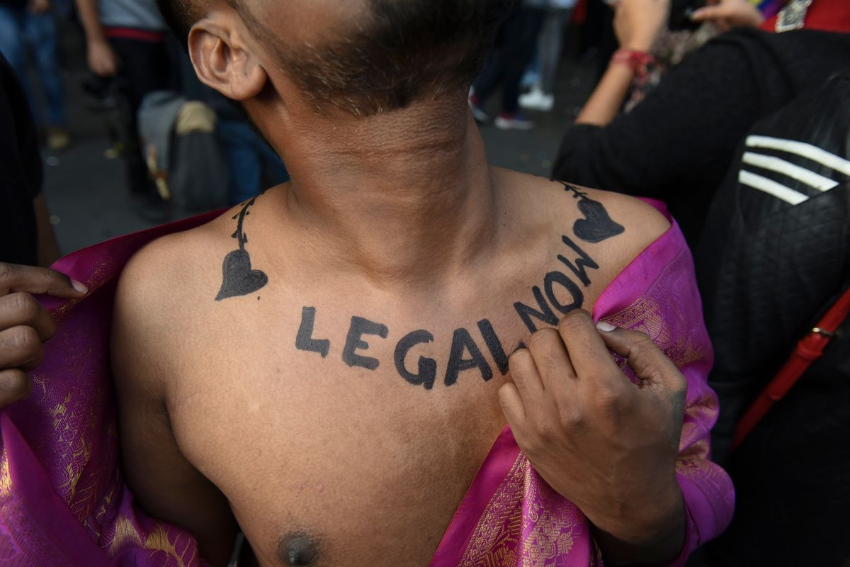 New Delhi's Pride Parade Had Extra Meaning This Year